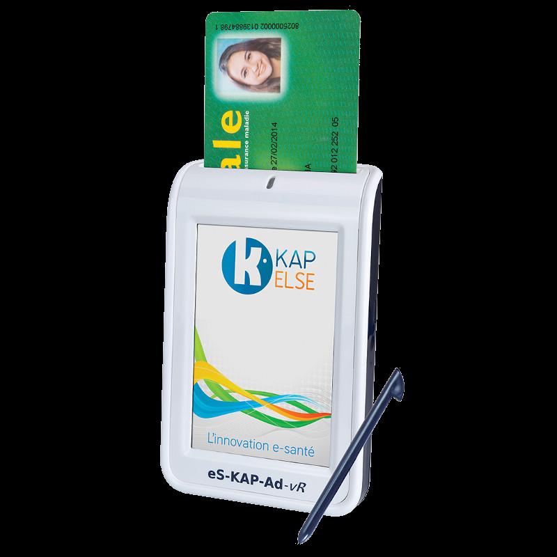 Lecteur carte vitale portable Kapelse-ES-Kap-ad